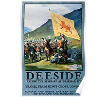 Deeside, British Travel Poster Poster