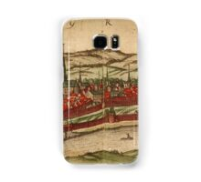 Cheb Vintage map.Geography Czech Republic ,city view,building,political,Lithography,historical fashion,geo design,Cartography,Country,Science,history,urban Samsung Galaxy Case/Skin