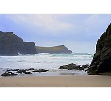 """"""" Touch The Atlantic """" Photographic Print"""