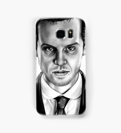 Jim Moriarty Drawing Samsung Galaxy Case/Skin