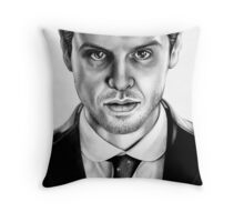 Jim Moriarty Drawing Throw Pillow