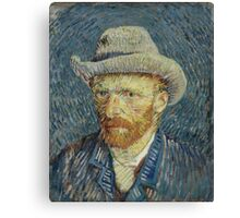 Vincent Van Gogh self portrait Canvas Print