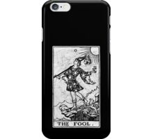 The Fool Tarot Card - Major Arcana - fortune telling - occult iPhone Case/Skin