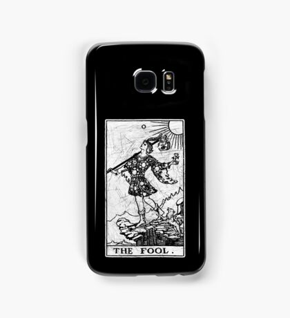 The Fool Tarot Card - Major Arcana - fortune telling - occult Samsung Galaxy Case/Skin
