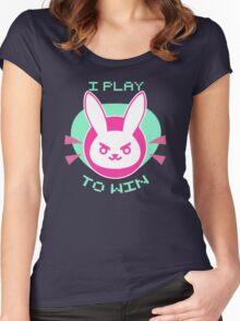D Vunny Women's Fitted Scoop T-Shirt