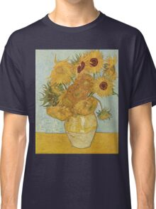 Sunflowers by Vincent Van Gogh Classic T-Shirt