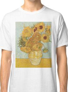 Sunflowers by Vincent Van Gogh Classic T-Shirt