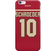 Minnesota Wild Jordan Schroeder Jersey Back Phone Case iPhone Case/Skin