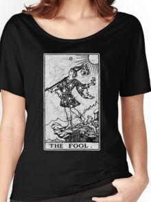 The Fool Tarot Card - Major Arcana - fortune telling - occult Women's Relaxed Fit T-Shirt