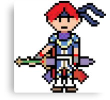 Pixel Wielder of the Burning Blade Canvas Print