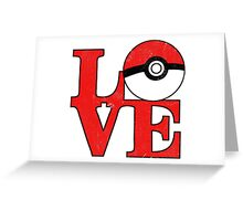 Poke-Love Greeting Card