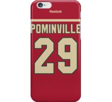 Minnesota Wild Jason Pominville Jersey Back Phone Case iPhone Case/Skin