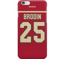 Minnesota Wild Jonas Brodin Jersey Back Phone Case iPhone Case/Skin