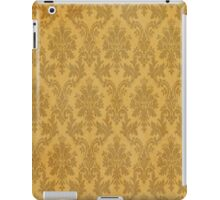 orange grunge damask iPad Case/Skin