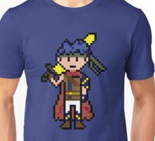 Pixel Hero of the Blue Flame Unisex T-Shirt