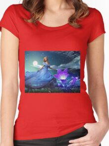 Some Enchanted Evening  Women's Fitted Scoop T-Shirt