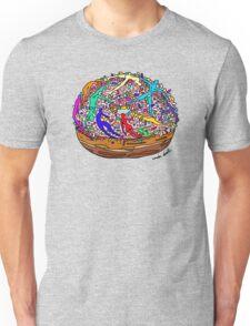 Human Donut Sprinkles 2 Pattern Unisex T-Shirt