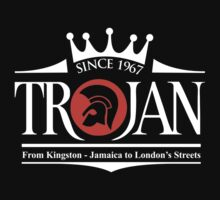 TROJAN RECORDS FROM LONDON STREET Kids Tee