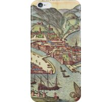 Chios Vintage map.Geography Greece ,city view,building,political,Lithography,historical fashion,geo design,Cartography,Country,Science,history,urban iPhone Case/Skin