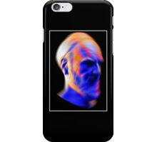 Glitch (White Border) iPhone Case/Skin