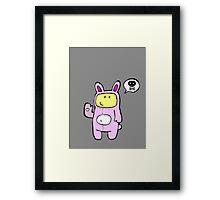Bad Bunny Framed Print