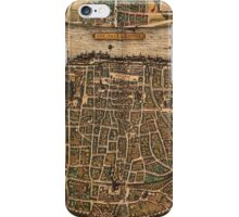 Cologne Vintage map.Geography Germany ,city view,building,political,Lithography,historical fashion,geo design,Cartography,Country,Science,history,urban iPhone Case/Skin