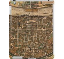 Cologne Vintage map.Geography Germany ,city view,building,political,Lithography,historical fashion,geo design,Cartography,Country,Science,history,urban iPad Case/Skin