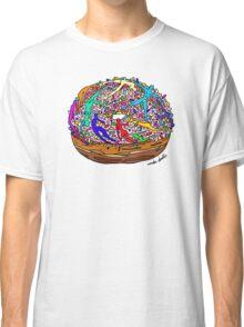 Human Donut Sprinkles Pattern Classic T-Shirt