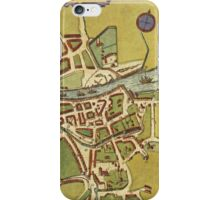 Dublin Vintage map.Geography Irland ,city view,building,political,Lithography,historical fashion,geo design,Cartography,Country,Science,history,urban iPhone Case/Skin