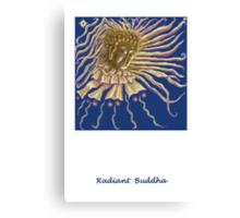 three Buddha images Canvas Print