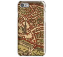 Duiisburg Vintage map.Geography Germany ,city view,building,political,Lithography,historical fashion,geo design,Cartography,Country,Science,history,urban iPhone Case/Skin