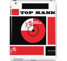 Top Rank Vintage Record Sleeve iPad Case/Skin