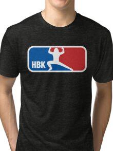 Shawn Michaels Wrestling NBA Tri-blend T-Shirt