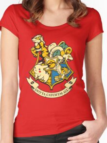 Pokewarts Women's Fitted Scoop T-Shirt