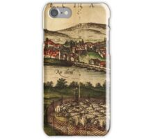 Ecija Vintage map.Geography Spain ,city view,building,political,Lithography,historical fashion,geo design,Cartography,Country,Science,history,urban iPhone Case/Skin