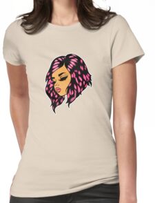 The Patron Saint Of Girls With Brightly Coloured Hair Womens Fitted T-Shirt