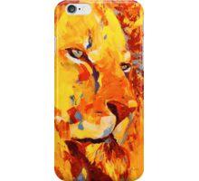 Lion jaune iPhone Case/Skin