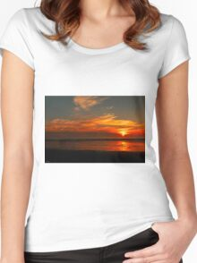 And Another Oregon Sunset © Women's Fitted Scoop T-Shirt