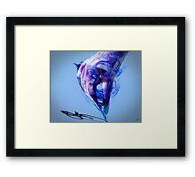 Skribus V Framed Print