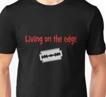 Living on the edge Unisex T-Shirt