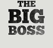 The Big Boss Womens Fitted T-Shirt