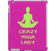 CRAZY YOGA LADY iPad Case/Skin
