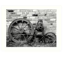 Victorian Junk Art Print