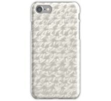 Crochet :white wash iPhone Case/Skin