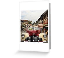 Wedding in Switzerland Greeting Card