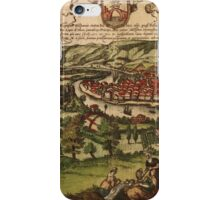 Bilbao Vintage map.Geography Spain ,city view,building,political,Lithography,historical fashion,geo design,Cartography,Country,Science,history,urban iPhone Case/Skin