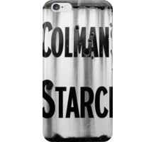 Colman's Sign iPhone Case/Skin