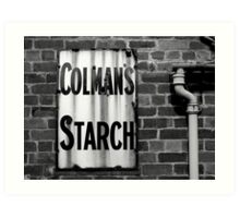 Colman's Sign Art Print