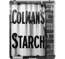 Colman's Sign iPad Case/Skin