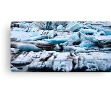Ice from Iceland Canvas Print